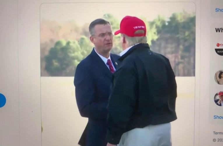 President Trump Shook Hands With Georgia Rep Doug Collins, Self-Quarantined After COVID-19 Contact
