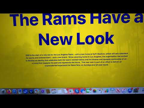 The LA Rams New Logo Makes Me Want To See The Old Logo, Again. Big Mistake
