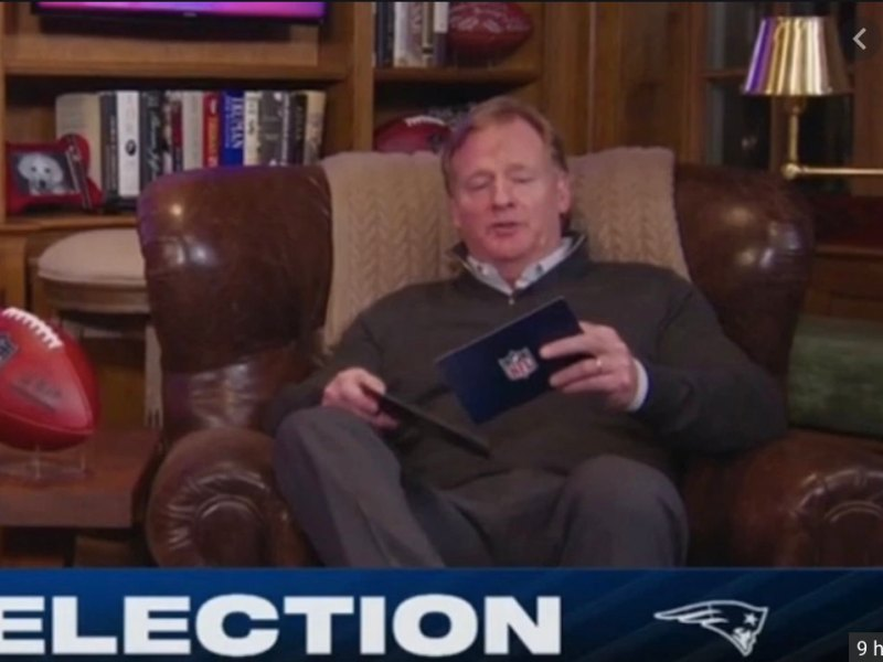 Roger Goodell Hosts 2020 NFL Draft Like Mr. Rogers: What's The Over / Under He Falls Asleep?