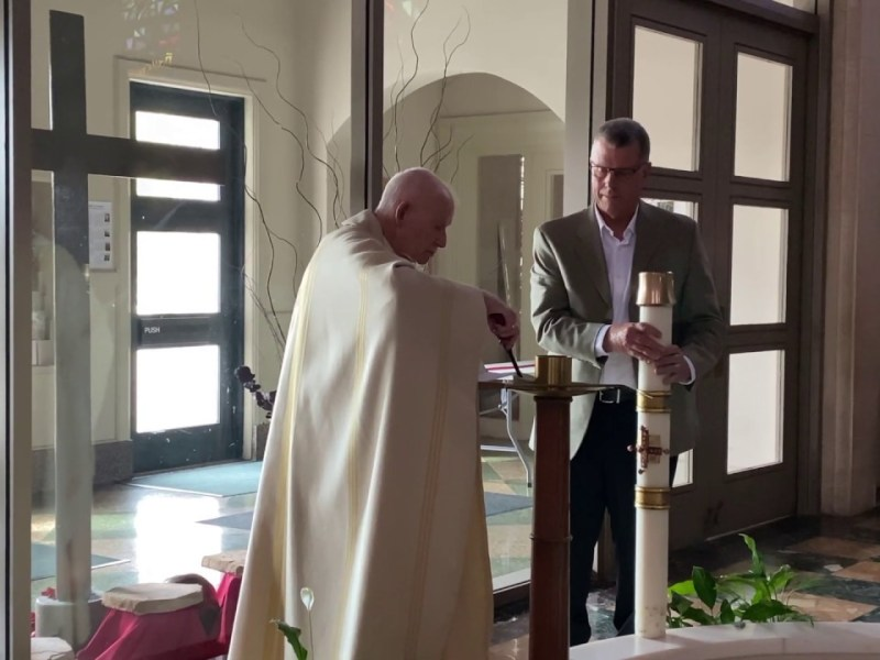 Easter Sunday Of The Resurrection Of The Lord – Our Lady of Lourdes Oakland ZOOM Service