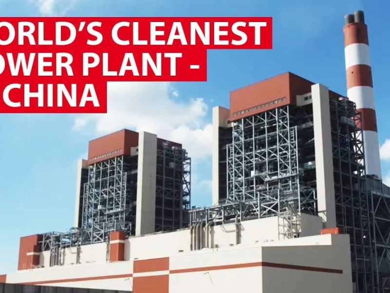 CNA Insider Shows Inside The World's Cleanest Power Plant – It's Coal-Powered In China