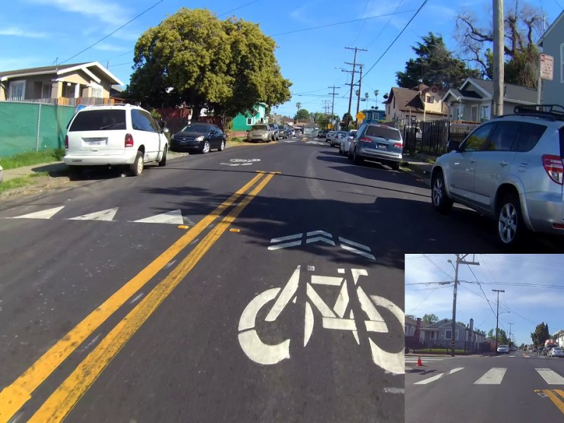 SF Bay Area Bicycle Is Back With Bike Oakland: Ride Of Sobrante Park & MacArthur: 90th To Fruitvale
