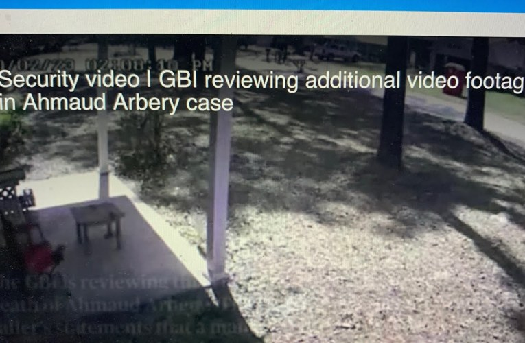 GBI Video Of House Shown By AJC Inconclusive In Ahmaud Arbery Case; No Theft Occured