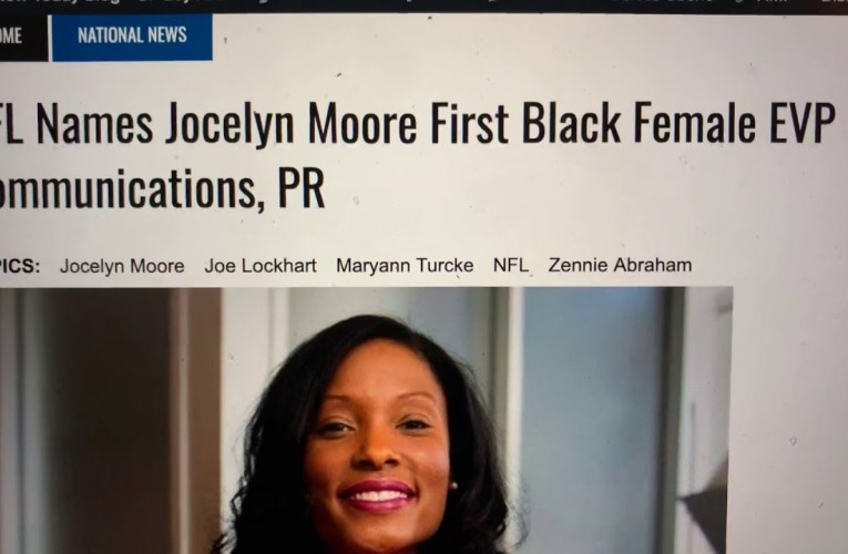 Jocelyn Moore Former NFL EVP PR Exec Resurfaces With Ozone X Venture Capital