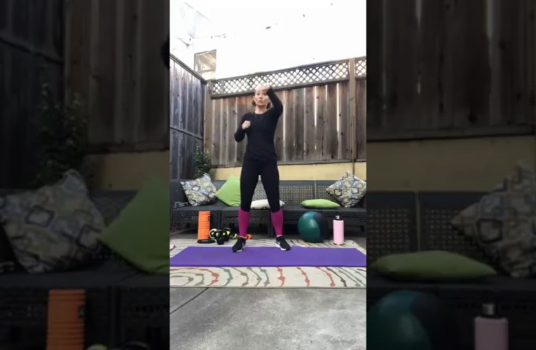 Truve Oakland's Trainer Alison Does 30 HIIT / 30 Stretch