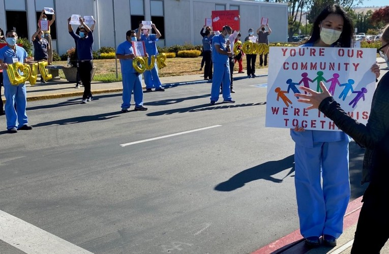 Backlash Against CNA Nurses Union At St. Rose Hospital In Hayward, California