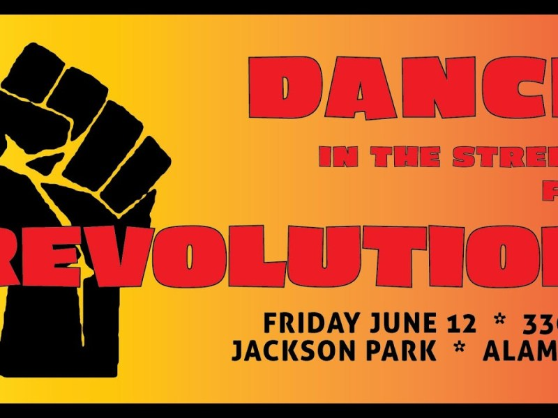 This Friday In Alameda: Dance In The Streets For Revolution To Celebrate Mali Watkins