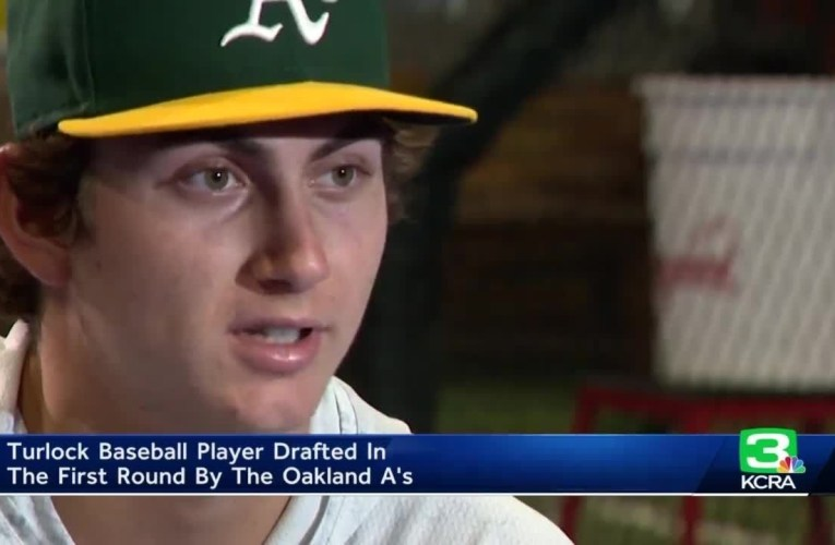Tyler Soderstrom Turlock HS Baseball Player Drafted By Oakland A's