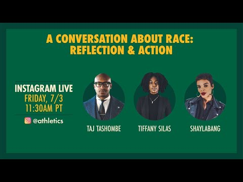 Oakland A's Taj Tashombe: A Conversation About Race With Shaylabang And Tiffany Silas