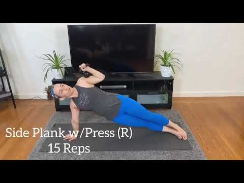Oakland Truve Fitness Trainer Alison Roessler Does Abs + Arms Sculpt