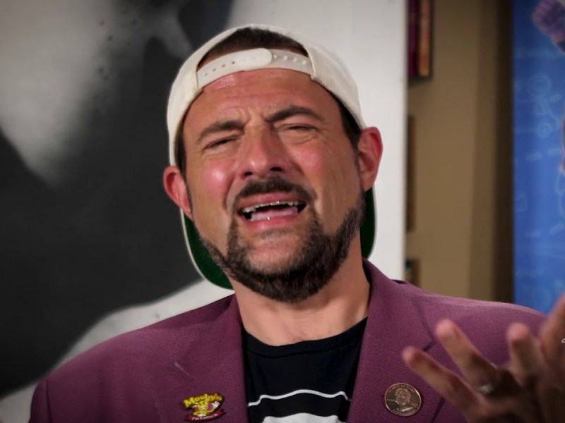 """Kevin Smith Talks Son-In-Lockdown In """"An Evening With Kevin Smith"""" 