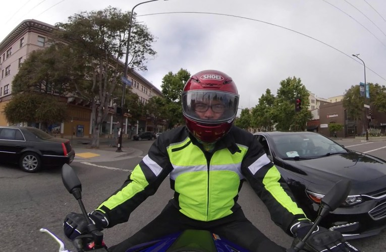 Berkeley to Oakland on Telegraph Ave – 360 Motorcycle Cruise – 7-20-2020