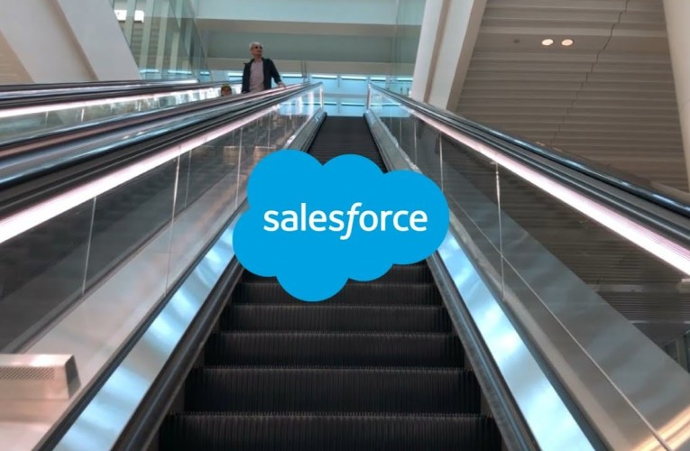 Brand New & Long Schindler Double-File Escalators-Salesforce Transit Center-San Francisco, CA