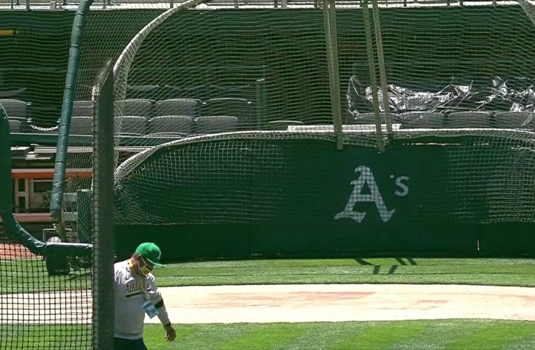 Oakland A's Open Camp Oakland Coliseum 2020: Live Workouts From Camp Coliseum