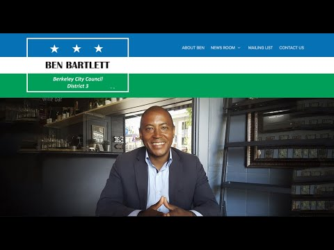 Ben Bartlett Berkeley Councilmember On Blockchain: Berkeley Tokenized Debt Offering