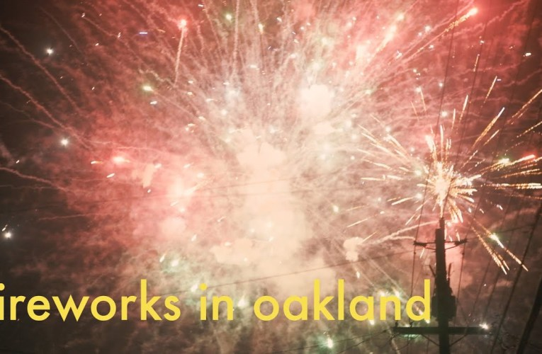 Fireworks in Oakland