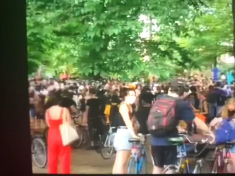 Giant Brooklyn Fourth Of July 2020 March For Black Lives Matter Shows Movement Is Mainstream