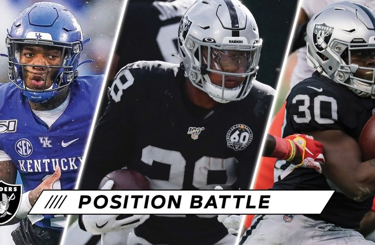 Josh Jacobs Looks to Build Off Prolific Rookie Season Within Deep RB Room | Las Vegas Raiders