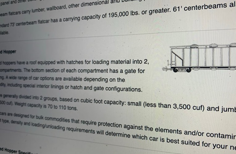 Nancy Nadel Of Oakland Says Covered Rail Coal Hopper Cars Don't Exist. Wrong