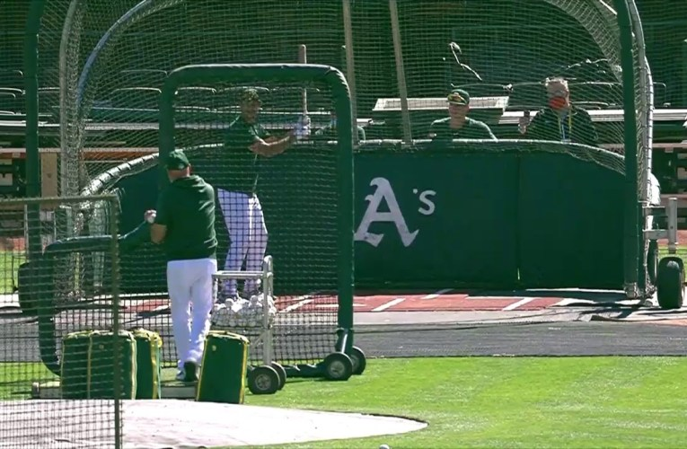 Oakland Athletics Training Live Stream From Oakland Coliseum For July 10th 2020