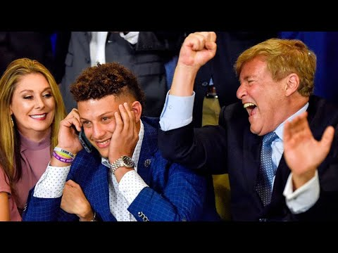 Patrick Mahomes 10 Year $450 Million Chiefs Deal Largest In History. Leigh Steinberg Does It Again