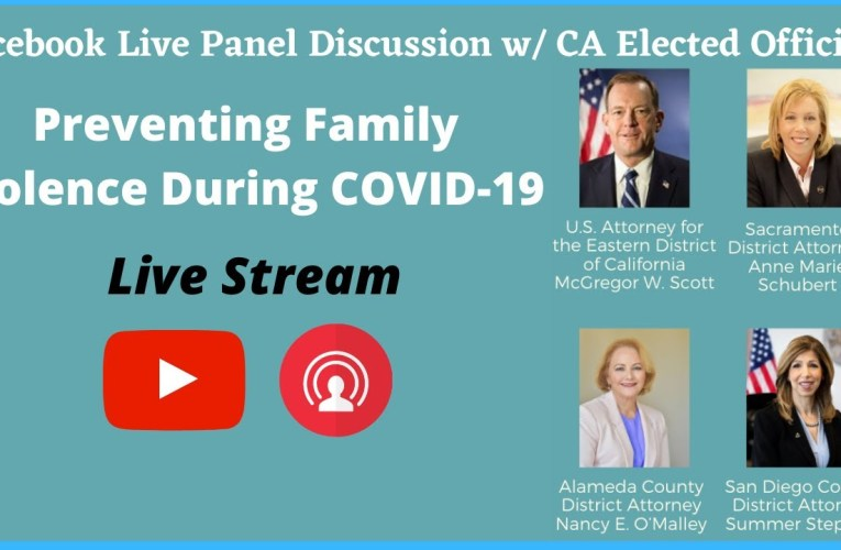 Alameda County District Attorney's Office Video: Preventing Family Violence During COVID-19