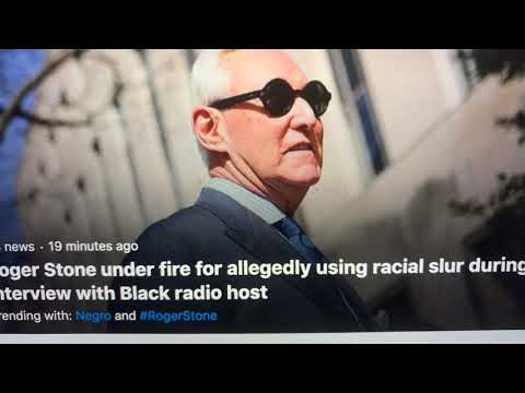 Roger Stone Used Racial Slur On MoKelly Radio Show, Says He Did Not; Listen For Yourself