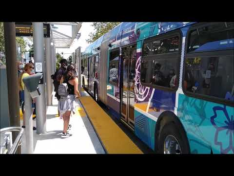 Oakland – East Bay BRT – AC Transit Tempo (Line 1T) – First Day of Service
