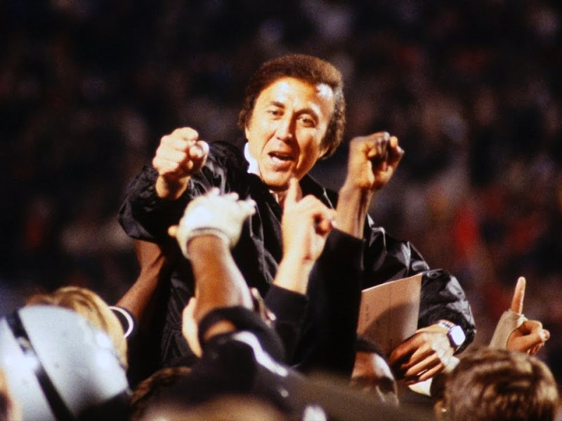 Former Raiders Coach Tom Flores Named Coach Finalist For Canton By Vinny Lospinuso