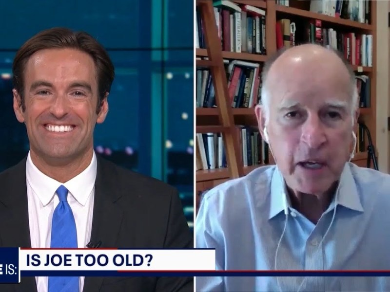 Gov. Jerry Brown on DNC, Biden, Trump, Climate Change & More (Full, Unedited Interview)