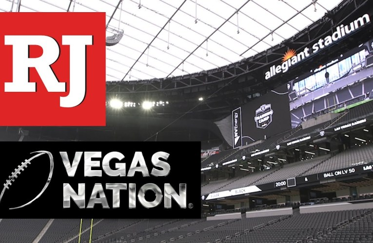 Las Vegas Raiders Training Camp: Allegiant Stadium From Section 129, RJ On YouTube