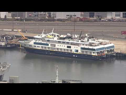 National Geographic Venture Docked At The Port Of Oakland, But Why?