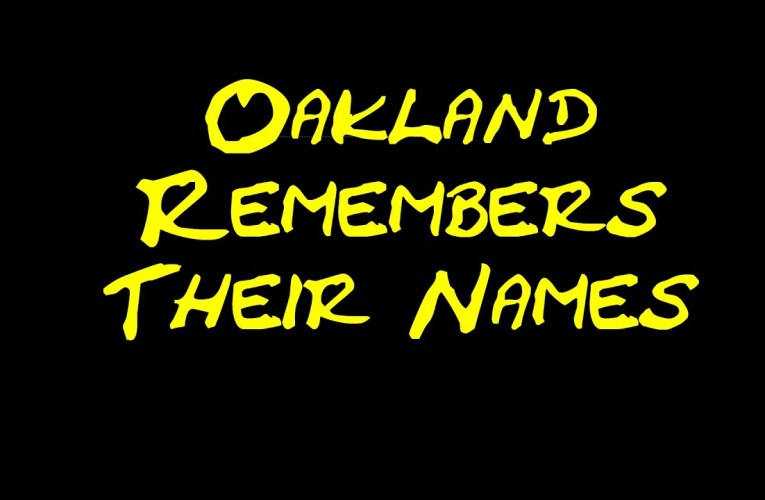 Ben Delaney On YouTube: Oakland Remembers Their Names – Murals 2020