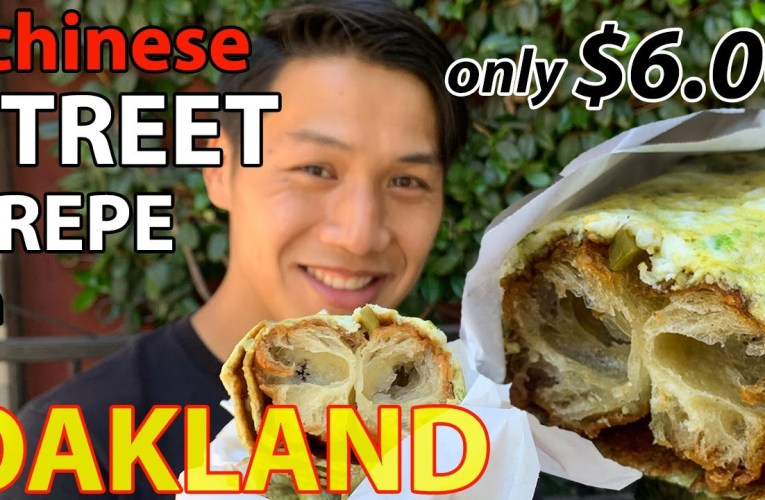 Popular Chinese Street Food in Oakland Chinatown