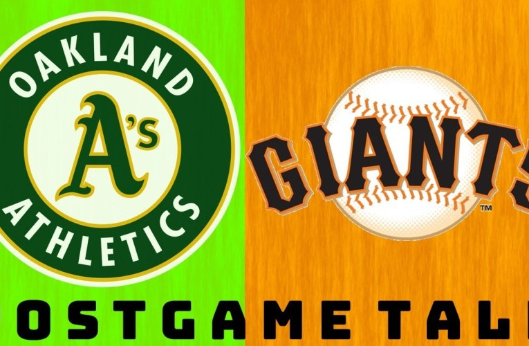 Postgame Talk: Oakland A's vs San Francisco Giants Game 2