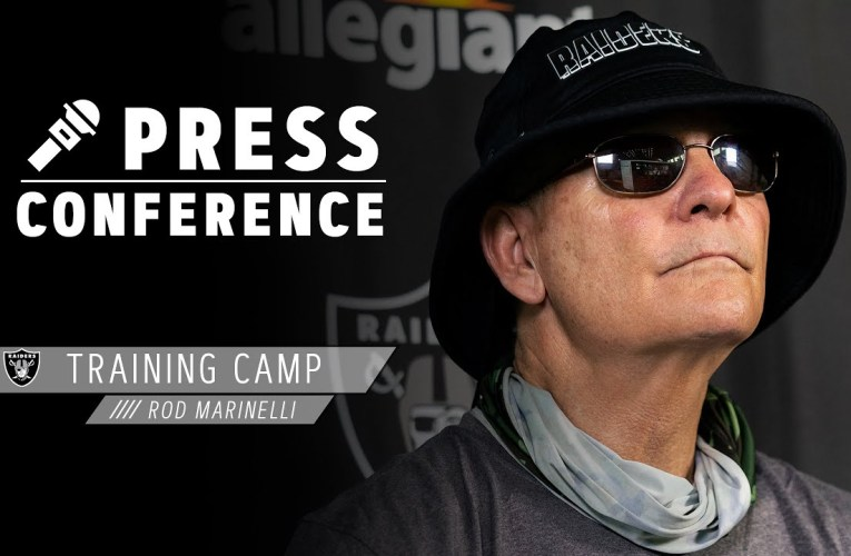 Rod Marinelli on Maxx Crosby's Motor, Coach Gruden's Approach To the Game | Las Vegas Raiders