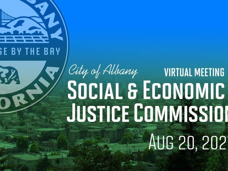 Social & Economic Justice Commission Virtual Special Meeting – Aug. 20, 2020