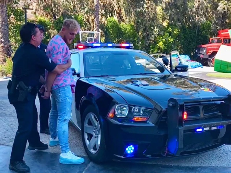 """Jake Paul, YouTube Star Tells """"The Story of How I Got Arrested…"""""""