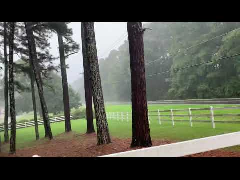 What Heavy Rain In Fayetteville Georgia Looks Like As Area Gets Pummeled On August 20th 2020