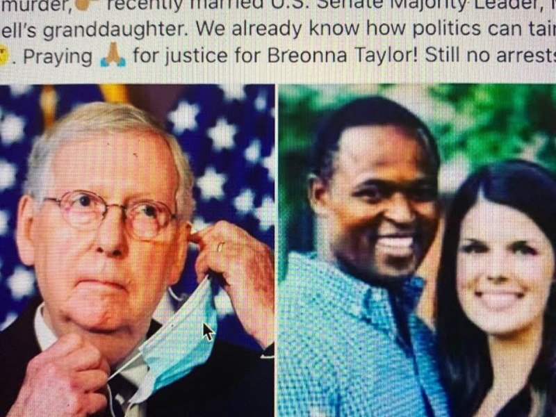 AG Daniel Cameron Of Breonna Taylor Shooting Case, Is Said To Be Mitch McConnell's Protege