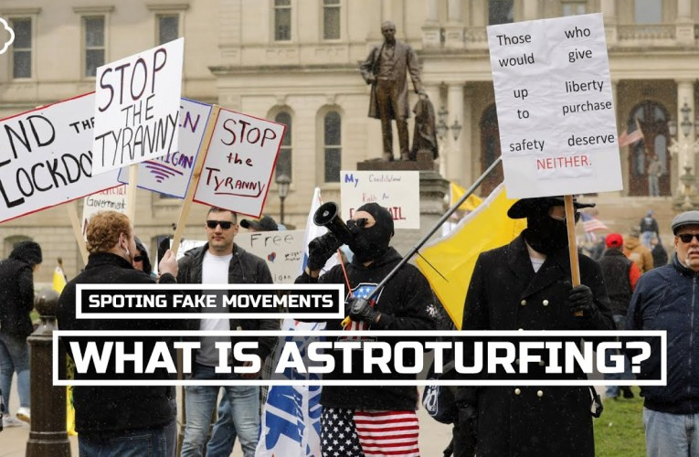 Is Oakland Politics Bugged By Astroturfing?  Here's How To Spot A Fake Movement