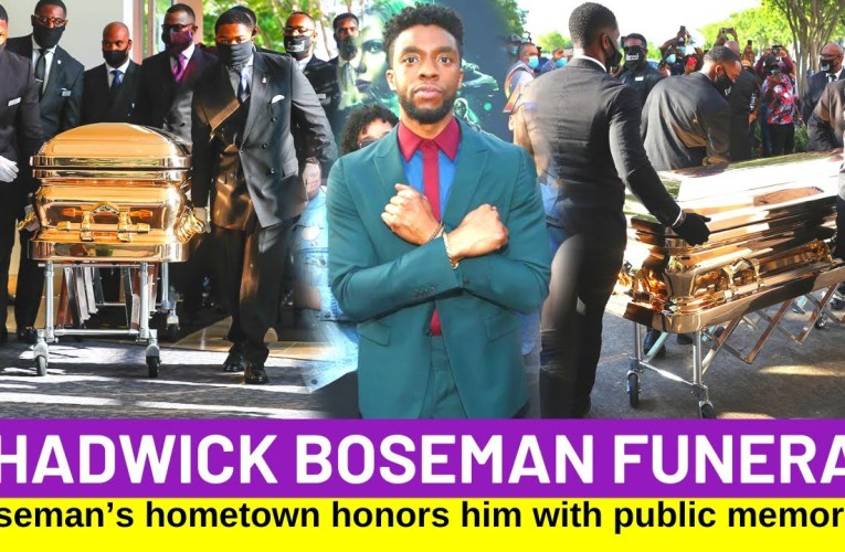 Chadwick Boseman Funeral And Memorial In South Carolina