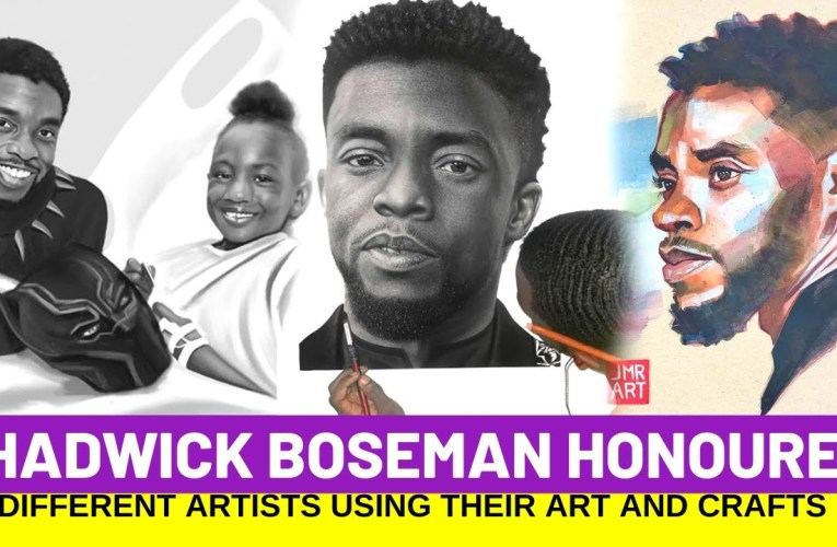Chadwick Boseman Given Last Respect By Artists, This Is Will Blow Your Mind
