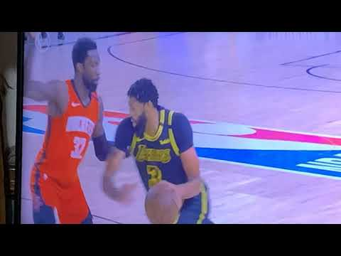 Lakers Anthony Davis Deliberately Hits Jeff Green In Privates During NBA Western Conference Finals