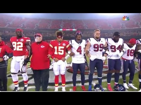 Were Kansas City Chiefs Fans Booing Racial Unity Members Of Ticket Buying Right Wing Protest Effort?