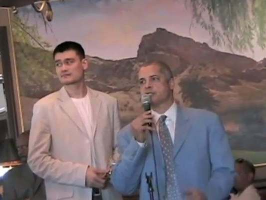 Bill Duffy With Yao Ming
