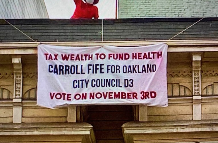 Carroll Fife Wages Class Warfare In 2020 Oakland City Council District 3 Race