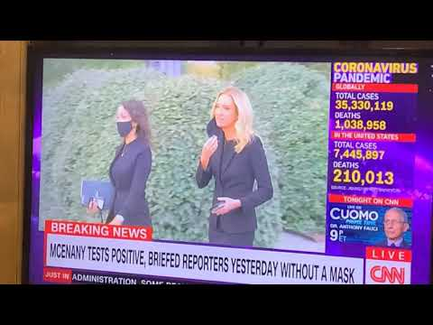 CNN Jake Tapper Lies About Kayleigh McEnany, Who Took Her Mask Off To Speak To The Press