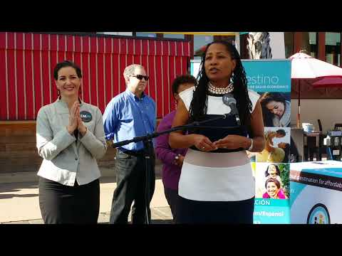 Covered CA Enrollment Event With Mayor Schaaf, Councilmember McElhaney, At Lake Chalet, Oakland