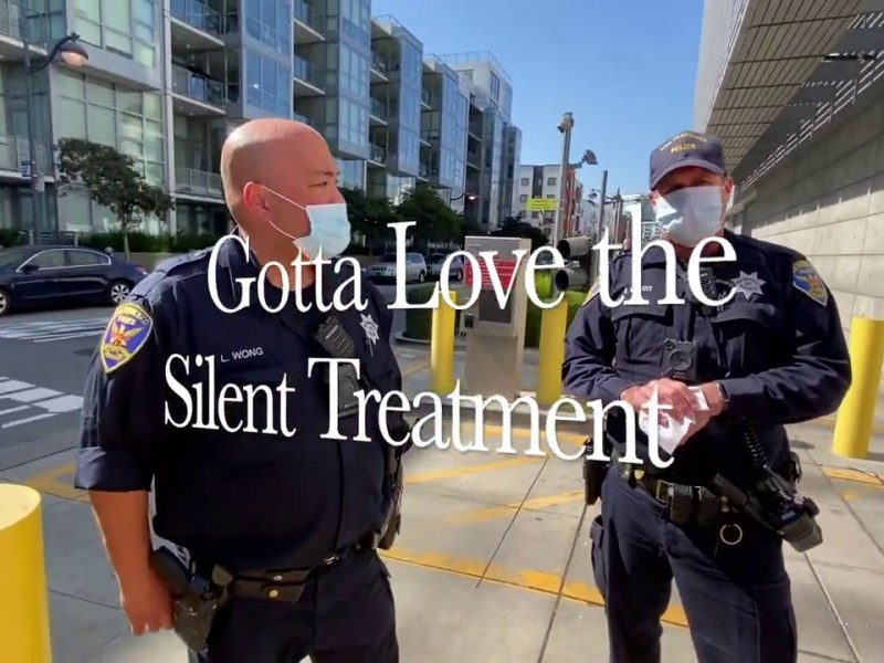 San Francisco Police Officers Heavy Handed Treatment Of YouTuber Ends Peacefully
